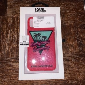 Karl Lagerfeld Karlifornia Dream iPhone X/Xs Case